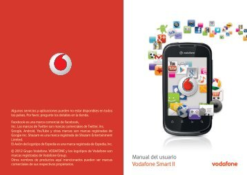 User manual Vodafone Smart II