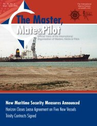 New Maritime Security Measures Announced Horizon Closes Lease ...