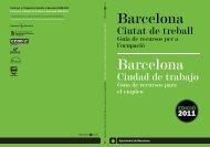 Guia Barcelona, Ciutat de Treball 2011 - Barcelona Activa