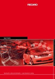 Sport Seats - Hellanor