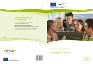 Languages for Europe - European Commission - Europa