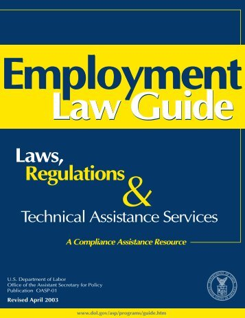 U.S. DOL Employment Law Guide - Union One
