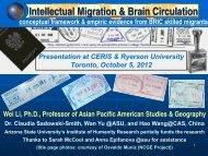 Dr. Li's Presentation Slides - CERIS