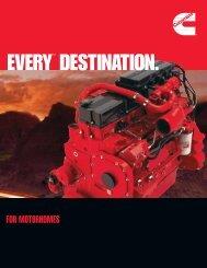 EVERY™ DESTINATION. - Cummins Engines