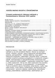 Rudolf Steiner FIZIČKI RAZVOJ SVIJETA I ... - Antropozofija