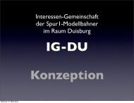 Konzeption IG-DU