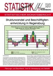 Strukturwandel und Beschäftigtenentwicklung in Regensburg