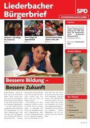 Liederbacher Bürgerbrief - SPD Main-Taunus