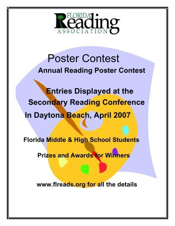 Poster Contest - Florida Reading Association