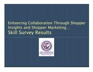 Skill S R lt Skill Survey Results - Category Management Association