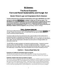 (REFRESH) Act of 2011 - FarmPolicy