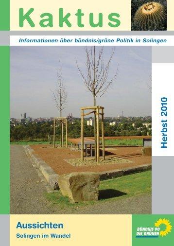 Kaktus Herbst 2010 - Grüne Solingen