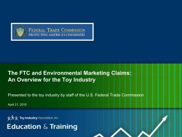 Presentation - Toy Industry Association