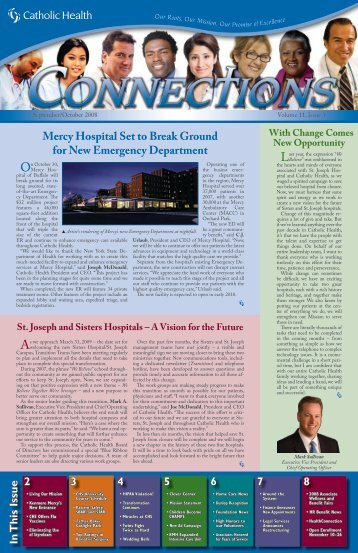 In This Issue2 3 4 5 6 7 8 Mercy Hospital Set to Break Ground for ...