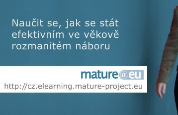 Naučit se, jak se stát efektivním ve věkově ... - Mature @ EU