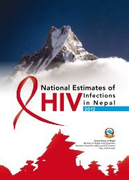 2012 National Estimates of HIV Infections in Nepal ... - AIDS Data Hub