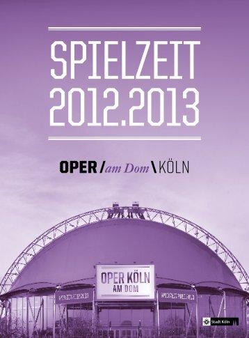 29.07.12 KöLNER PHILHARMONIE - Oper Köln