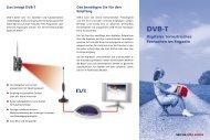 SRG SSR idée suisse: Digitales terrestrisches Fernsehen im Engadin