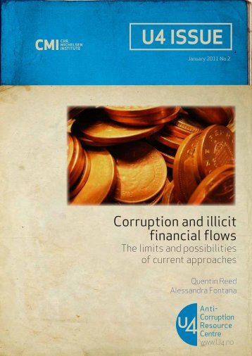 Corruption and illicit financial flows - U4 Anti-Corruption Resource ...