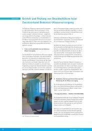 Betrieb und Prüfung von Druckbehältern beim Zweckverband ...