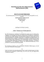 Vereinbarung über den elektronischen Datenaustausch (EDI) - star ...