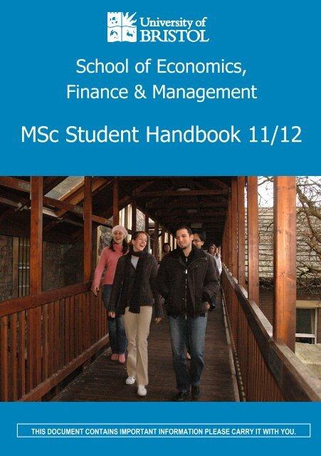 School of Economics - Study in the UK