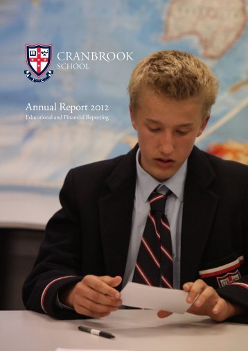 BoS Annual Report - Cranbrook School