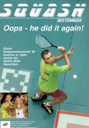 2006 'Wilson' Squash- STAATSMEISTERSCHAFT - beim ...