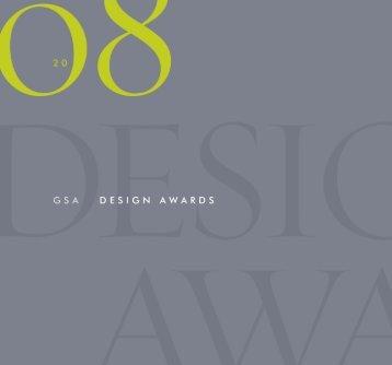 Winners of the 2008 Biennial Design Awards - GSA