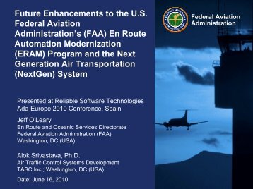 Future Enhancements to the U.S. Federal Aviation Administration's ...