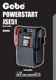 POWERSTART JSE51 - Mekk