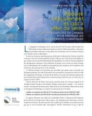 Réduire radicalement les gaz à effet de serre - Climate Action ...