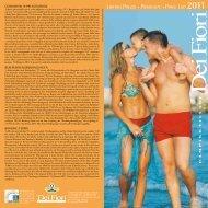 Listino Prezzi • Preisliste • Price List 2011 - Italiacampeggi