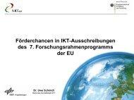 NKS IKT Arbeitsprogramm ab 2013 - Dr. Uwe-Michael Schmidt