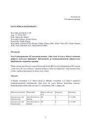Põhjaveekomisjoni koosoleku protokoll nr 120