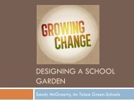 Designing a school garden - Green Schools Ireland