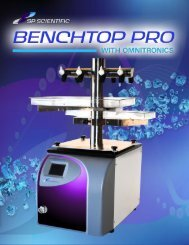 BenchTop Pro with Omnitronics 8L Freeze Dryer - LABRepCo