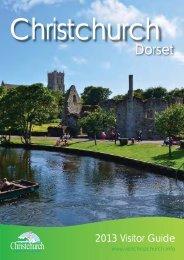 Christchurch Visitor Guide 2013 - Visit Dorset