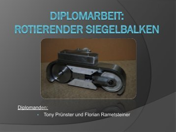 Rotierender Siegelbalken - HTL- Innovativ Austria