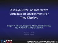 DisplayCluster: An Interactive Visualization Environment For Tiled ...