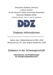 Diabetes Informationen Diabetes in der Schwangerschaft