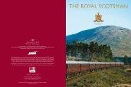 THE ROYAL SCOTSMAN - Luxury Territory