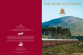 THE ROYAL SCOTSMAN - Luxury Territory