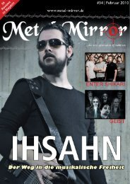 Ihsahn, Enter Shikari, Geist, Sammath, Antares Predator - Metal Mirror