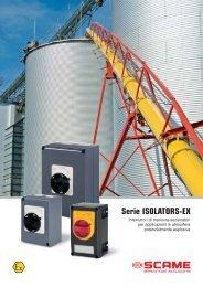 Serie ISOLATORS-EX - Scame Parre S.p.A.