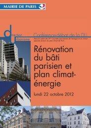 Conference debat_100113.indd - Ville de Paris