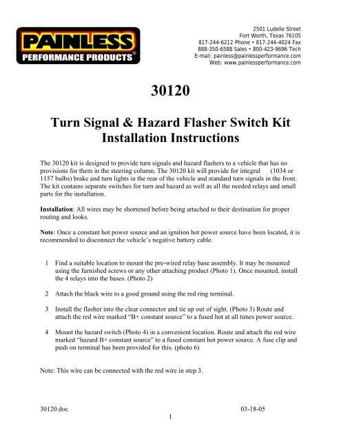 28 Signal Stat 900 Wiring Diagram