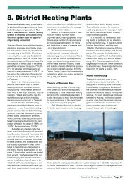 Chapter 8 - District Heating Plants
