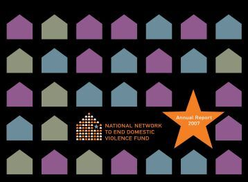 Annual Report 2007 - National Network to End Domestic Violence