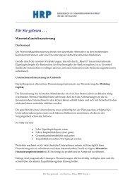Wareneinkaufsfinanzierung - Heyd, Reims & Partner GmbH & Co. KG